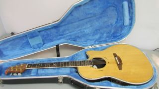 Ovation 1869 Custom Legend  Natural Electric Acoustic Guitar FREE