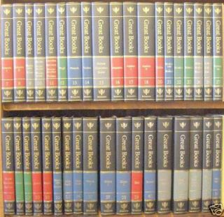 Britannica Great Books of The Western World 2nd Edition Single Volumes