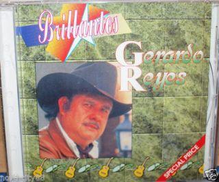Gerardo Reyes Latin Music CD Album Brillantes Regional Mexicano
