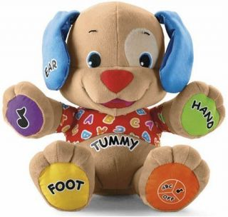 Fisher Price Educational Baby Toy Interactive Laugh Learn Puppy Songs