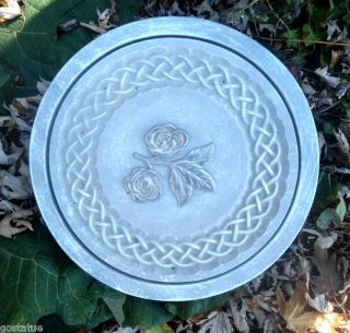 Celtic Rose Stepping Stone Heavy Duty Plastic Mold 3 Designs to Choose