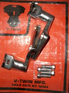 Harley Davidson Chrome Rear Peg Mounts