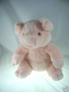 Pink Pig Plush Lazarus Federated Department Stores