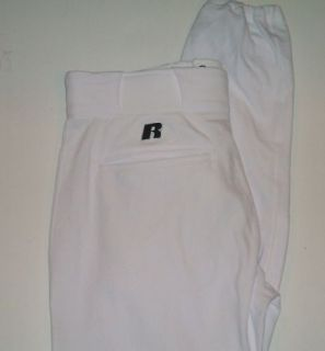 Boys Russell Athletic Baseball Pant Large White