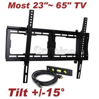 Plasma LCD LED TV Tilt Wall Mount 23 24 26 32 37 40 42 46 47 50 52 55