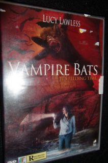 Vampire Bats Lucy Lawless Original DVD SEALED Brand New