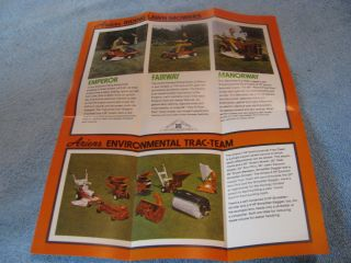 Ariens Lawn Garden Equipment Brochure Vintage