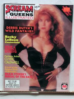 Illustrated 5 Movie Magazine Becky LeBeau Debbie Dutch L5432