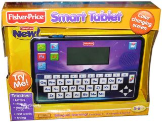 Fisher Price Fun 2 Learn Smart Tablet Bilingual Learning English