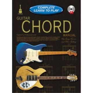 Guitar Chord Manual Complete Learn to Play w CD