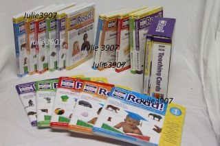 Your My Baby Can Learn Read Deluxe w Volume 1 5 Extra Flashcards DVD