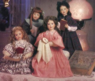Drake Little Women set of 5 Jo Amy Meg Beth Marmee by Wendy Lawton