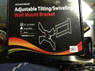 Swivel Arm Wall Mount Flat Screen TV 46 32 26 22 19 inch 125lb