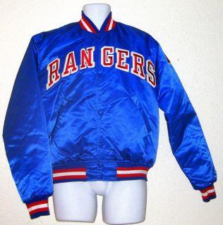 Rangers Early 1980s Starter Jacket Large Mark Messier Leetch VG