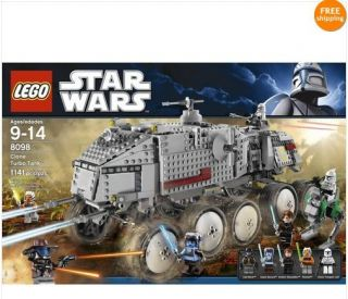 NEW SEALED LEGO Star Wars Clone Turbo Tank 8098 AAYLA SECURA FREE