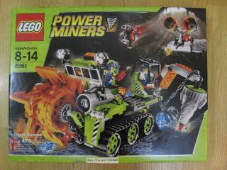 Lego Power Miners 8961 Crystal Sweeper Set MNIB A