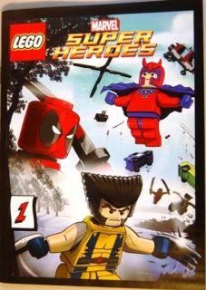 Lego Comic Book Marvel Super Heroes 1 Class B
