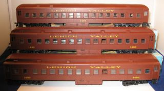 Athearn HO Blue Box Lehigh Valley Passenger Cars