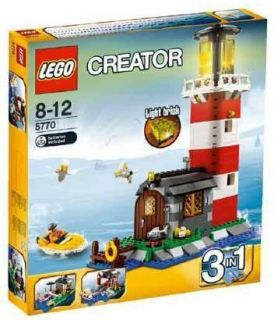 Lego Town City Building Set 5770 Lighthouse Island New
