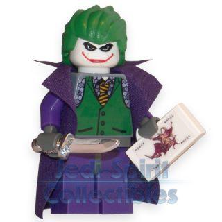 Lego Batman The Dark Knight Custom Joker Minifig