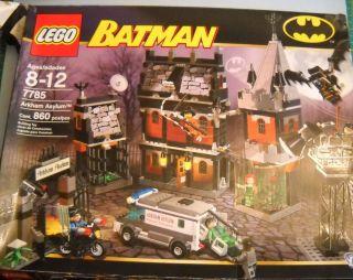 Lego Batman Arkham Asylum Set 7785 Partial Set