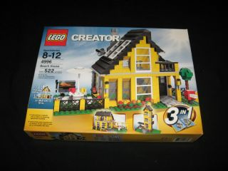 Lego 4996 Creator Beach House SEALED New Box MISB Set City Town Gift