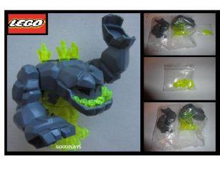 Lego Power Miners Geolix Large Rock Monster Neon Green Minifigur 8963