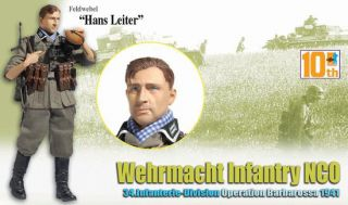 Dragon WWII 1 6 Scale German Wehrmacht Hans Leiter 10th