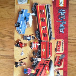 LEGO 4841 Harry Potter Hogwarts Express Train Cars 5 Minifigures NEW