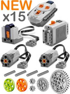 Lego Power Functions SET 1 (Technic,Motor,Receiver,Remote,Control