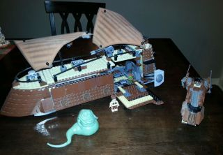 Lego Play Themes Star Wars Classic Jabbas Sail Barge 6210