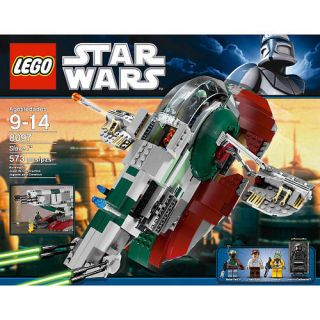 Lego Star Wars Slave 1 8097 Boba Fett Bounty Hunter SHIP