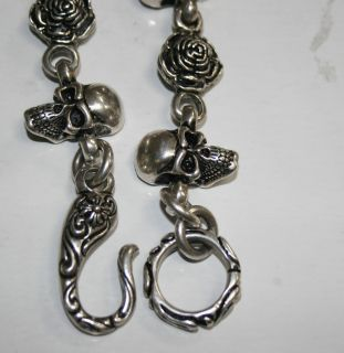 Leonard Kamhout Chrome Hearts Masterpiece Work The Skull and Open Rose