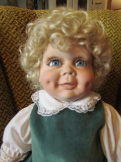 1988 Legacy Dolls, Inc. Terry DeHetre Original Christmas Daisy Doll