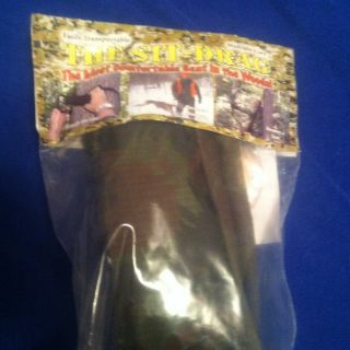 EZ Hunter Sit Down Deer Drag Hunting Seat Portable Straps To Tree New
