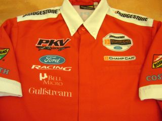 INDY CHAMP CAR KATHERINE LEGGE RACE TEAM CREW SHIRT FORD COSWORTH PKV