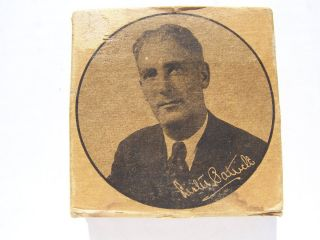 Vintage Lester Patrick hockey puck in box Very Rare. New York Rangers