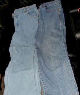 Womens Jeans Size 18 Venezia & Levi Strauss Lane Bryant Petite Levis