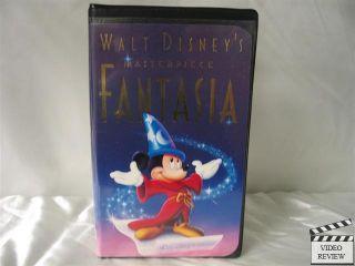Fantasia VHS Disney Leopold Stokowski 717951132031