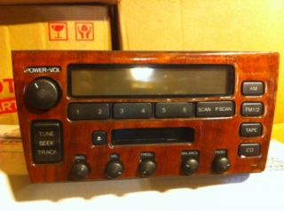 Lexus GS400 GS300 Radio Stereo Nakamichi 1998 1999 2000 with Wood Trim