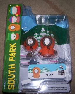 South Park Series 1 Kenny Action Figure w/ Alternate Head & Rats Brand