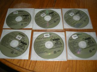 Karaoke CDG Chartbuster Essential Plus 90s Country ESP461 6 Disc Lot