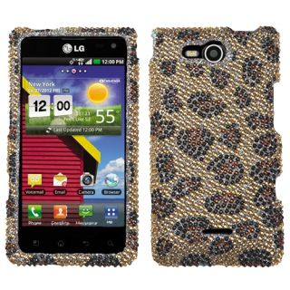 For LG Lucid 4G Crystal Diamond Bling Hard Case Snap on Phone Cover