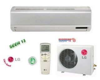 LG Ductless Mini Split Air Conditioner SEER 13 Cool Heat Standard Unit