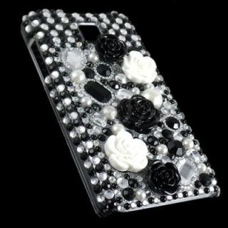 Bling Crystal Diamond Rhinestone Case Cover for LG Optimus G2x P990