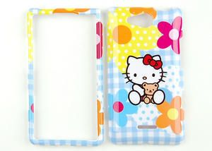 Hello Kitty Blue Phone Case Hard Cover for Verizon LG Lucid VS840