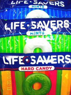 Life Savers Hard Candy 6 Choices