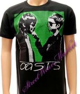 Oasis Liam Noel Gallagher Rock Band Tour T Shirt Sz L