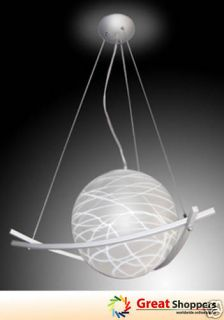 Contemporary Glass Ball Ceiling Light Pendant Lamp Lighting Fixture