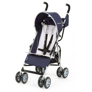 Navy Blue Boys Lightweight Stroller Baby Toddler Travel Safety Nice